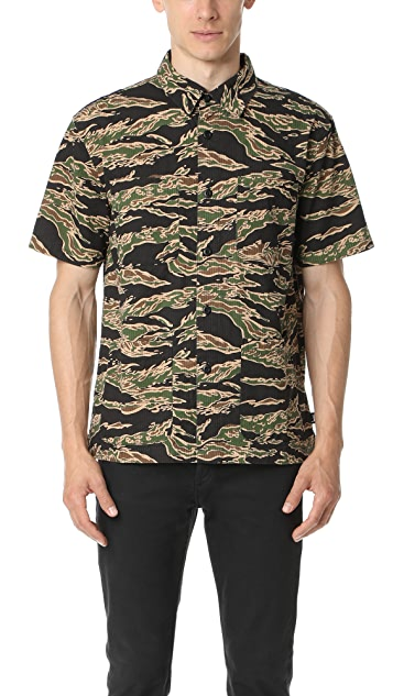 Stussy Seersucker Safari Shirt