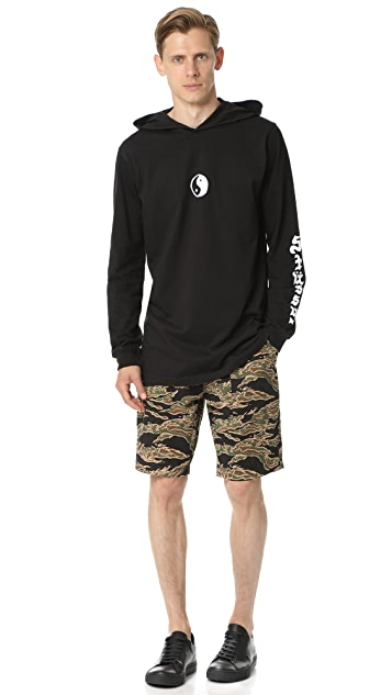Stussy Lil Yin Yang Hooded Pullover