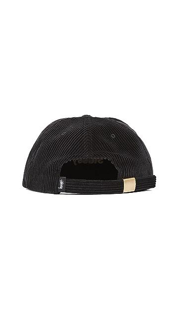 Stussy Cord Strapback Cap