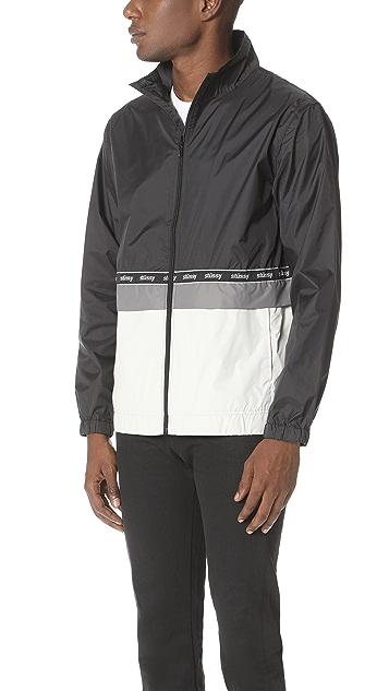Stussy Nylon Warm Up Jacket