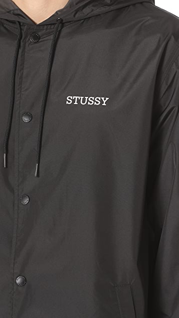 Stussy Tony Long Hooded Jacket