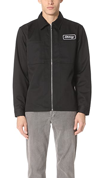 Stussy Full Zip Work Shirt