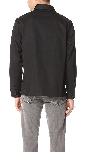 Stussy Full Zip Work Shirt