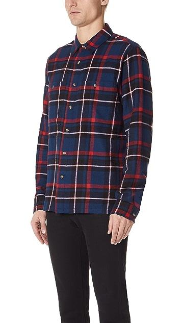 Stussy Big Pocket Flannel Shirt