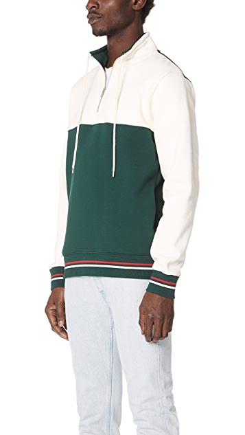 Stussy Drawcord Mock Neck Pullover