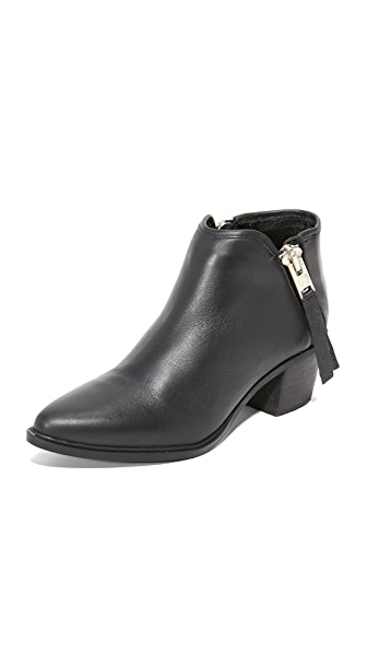 Steven Doris Booties - Black
