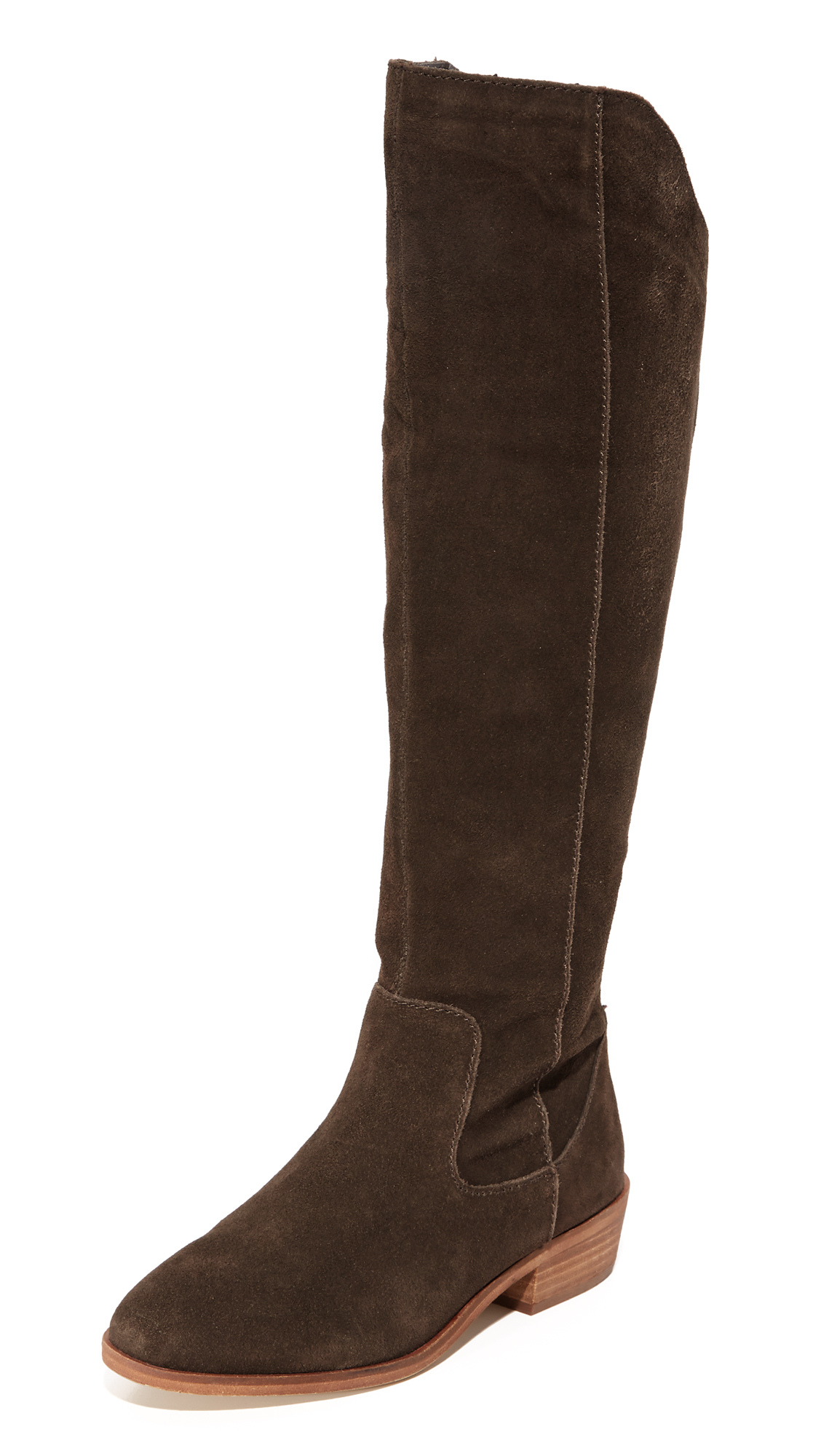 Steven Emmery Tall Boots - Dark Brown