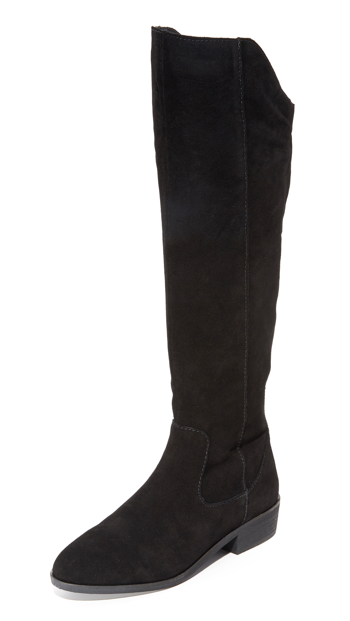 Steven Emmery Tall Boots - Black