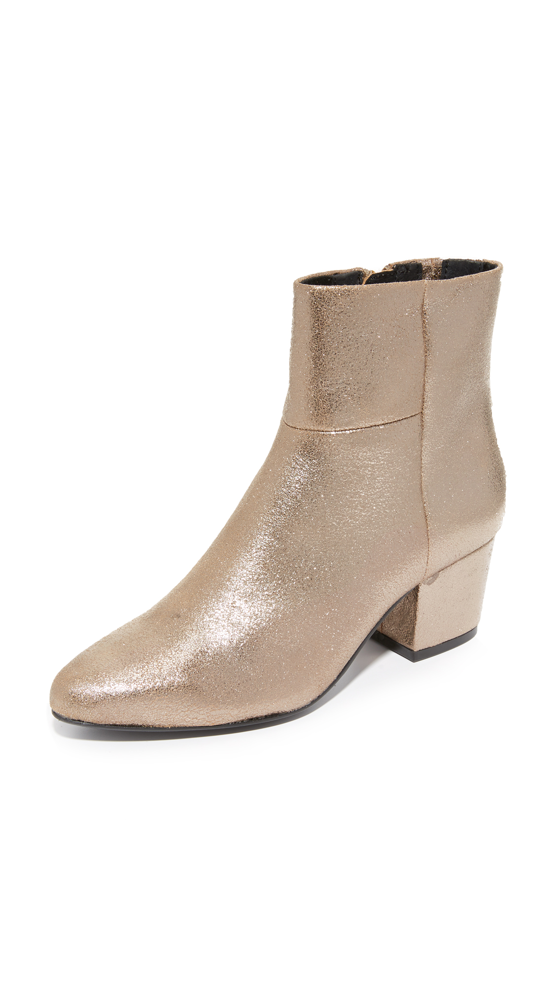 Steven Wes Booties - Silver