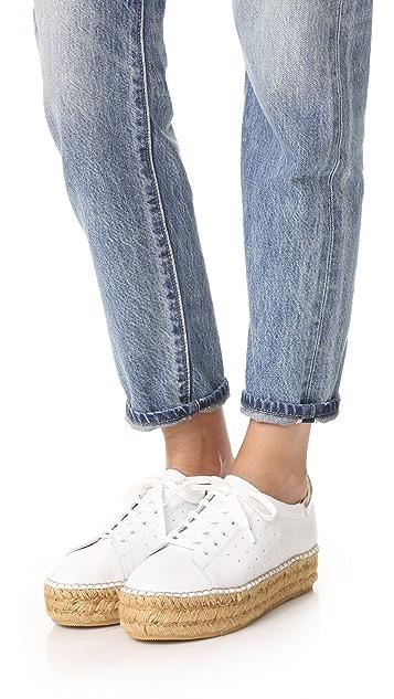 Steven Pace Espadrille Platform Sneakers