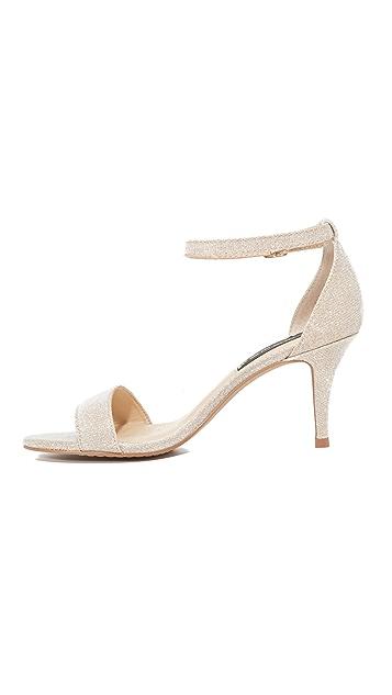 Steven Vienna Metallic Sandals