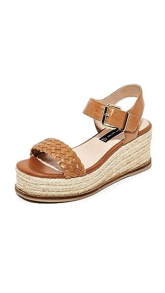 Steven Sabble Flatform Sandals - Tan