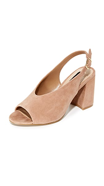 Steven Futures Slingback Pumps - Blush