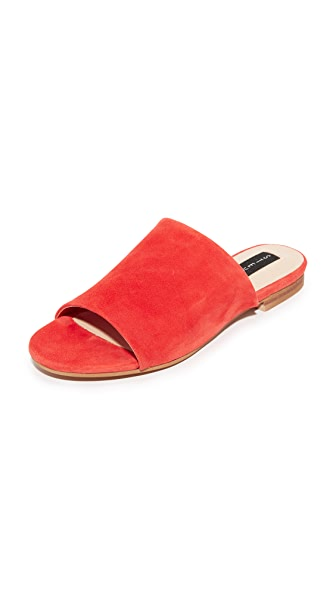 Steven Calahan Suede Slides - Tropical Coral