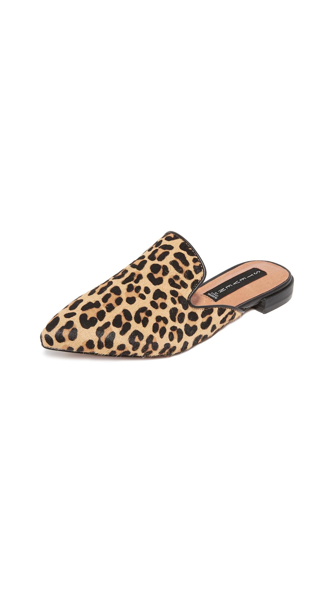 Steven Valente Leopard Mules - Leopard