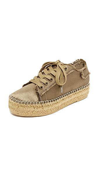 Steven Pace Espadrille Sneakers - Olive