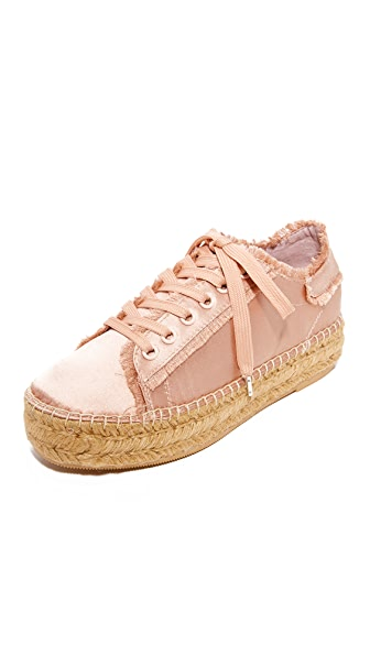 Steven Pace Espadrille Sneakers - Blush