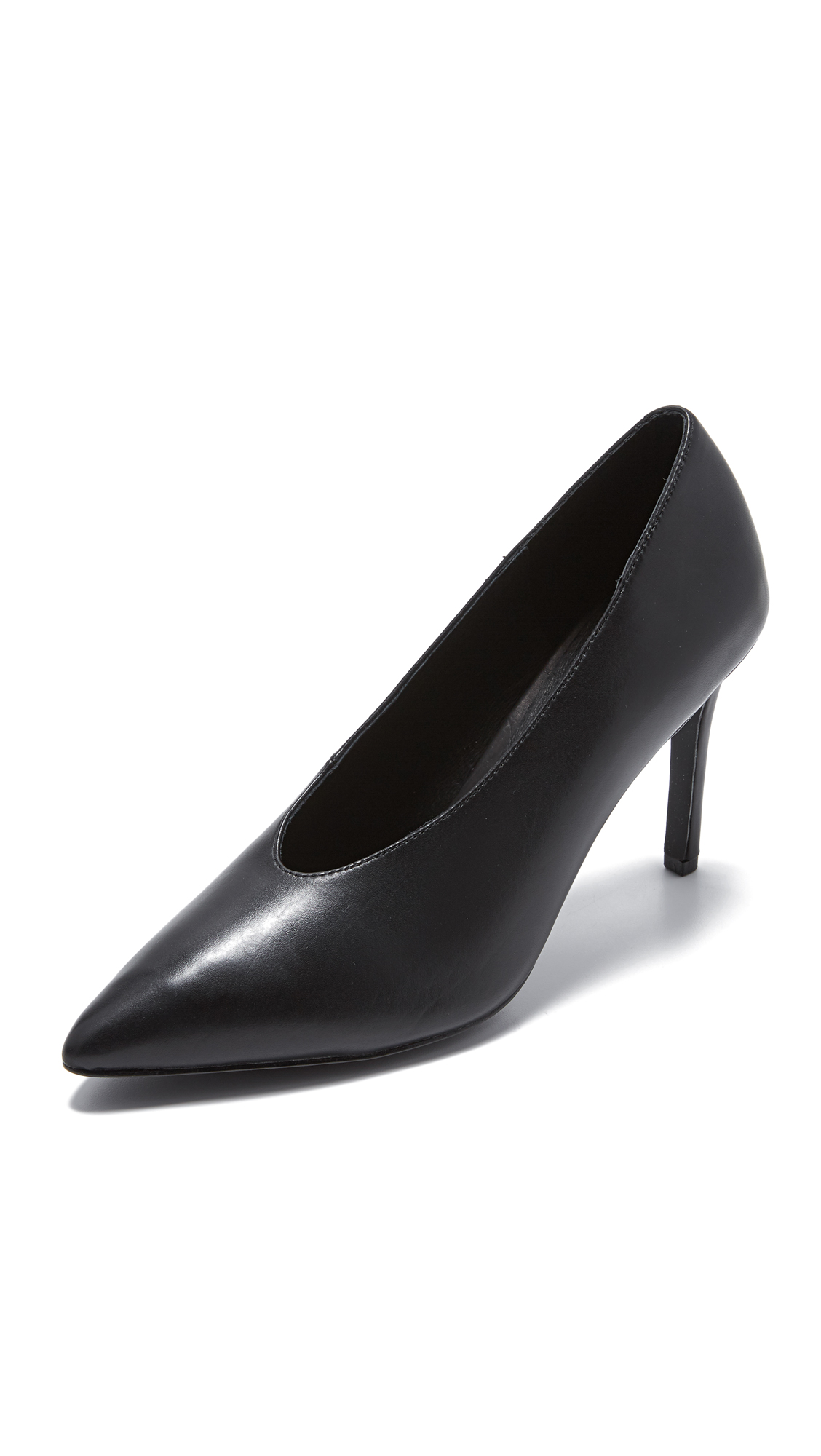 Steven Aiken Choke Up Pumps - Black