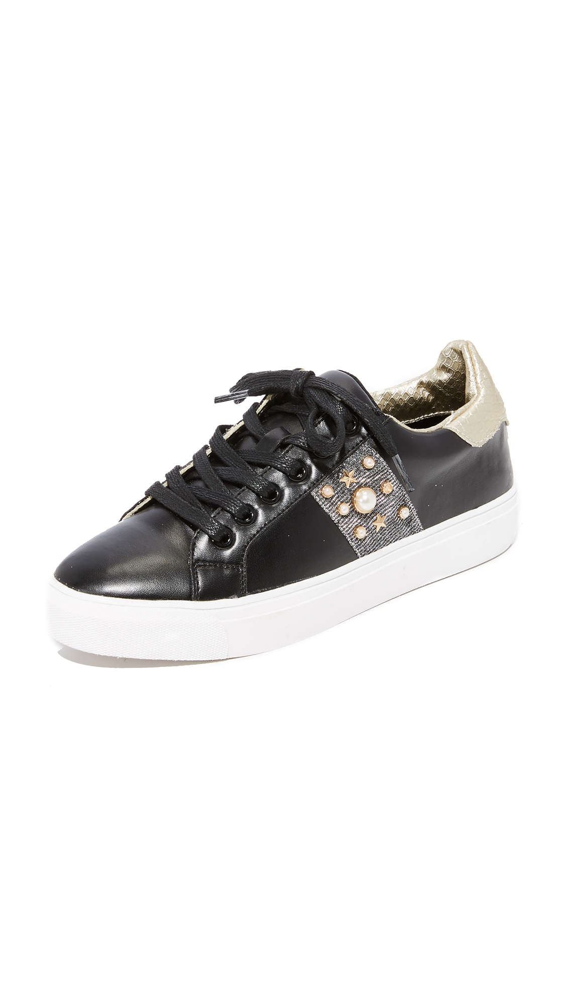Steven Cory Classic Sneakers - Black