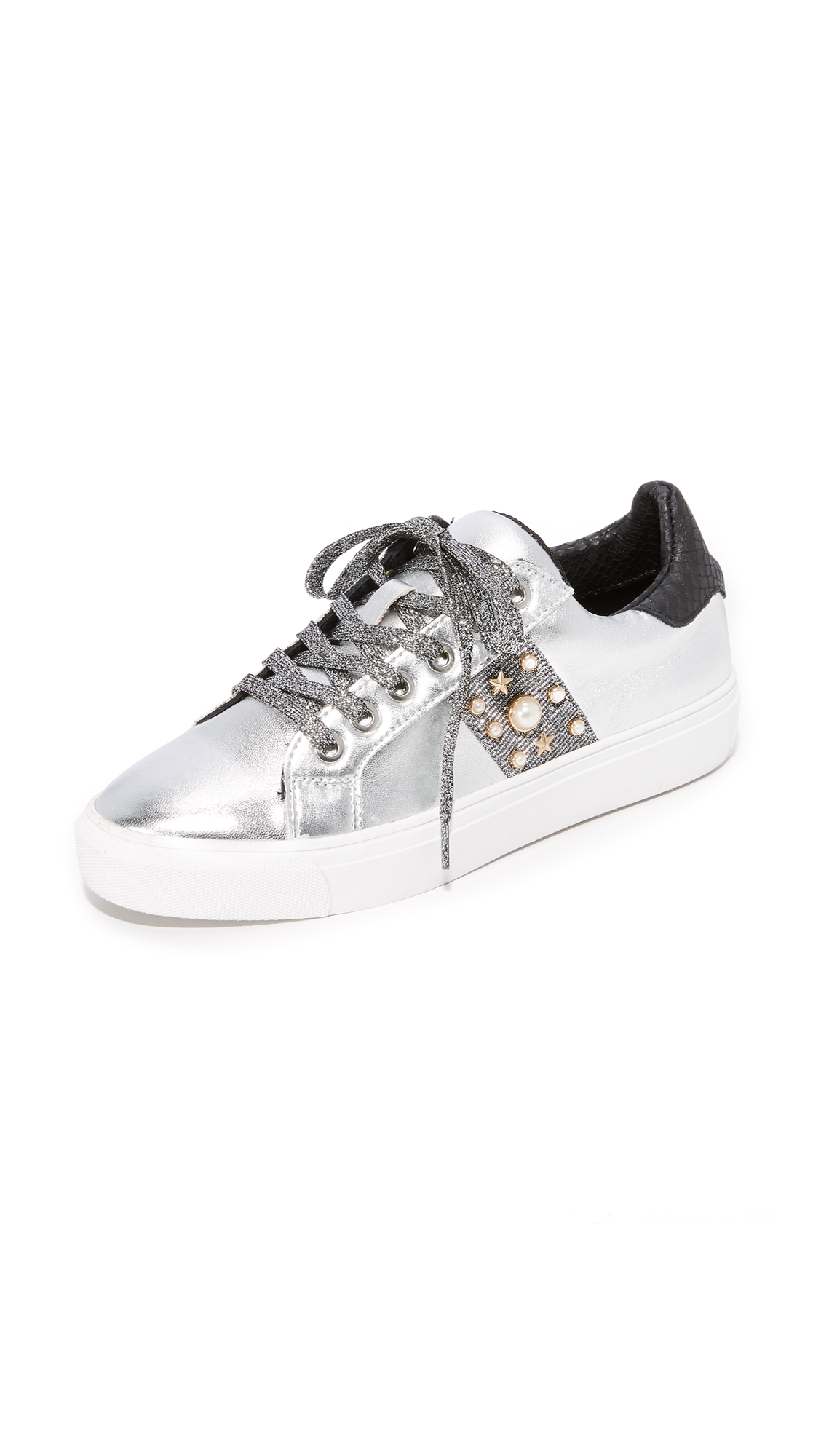 Steven Cory Classic Sneakers - Silver