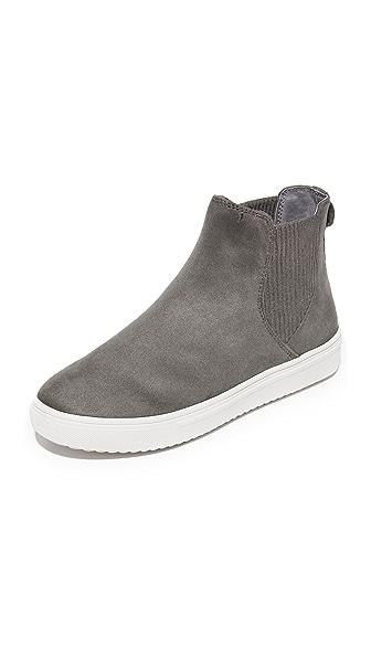 Steven Coal Platform Chelsea Sneakers - Grey