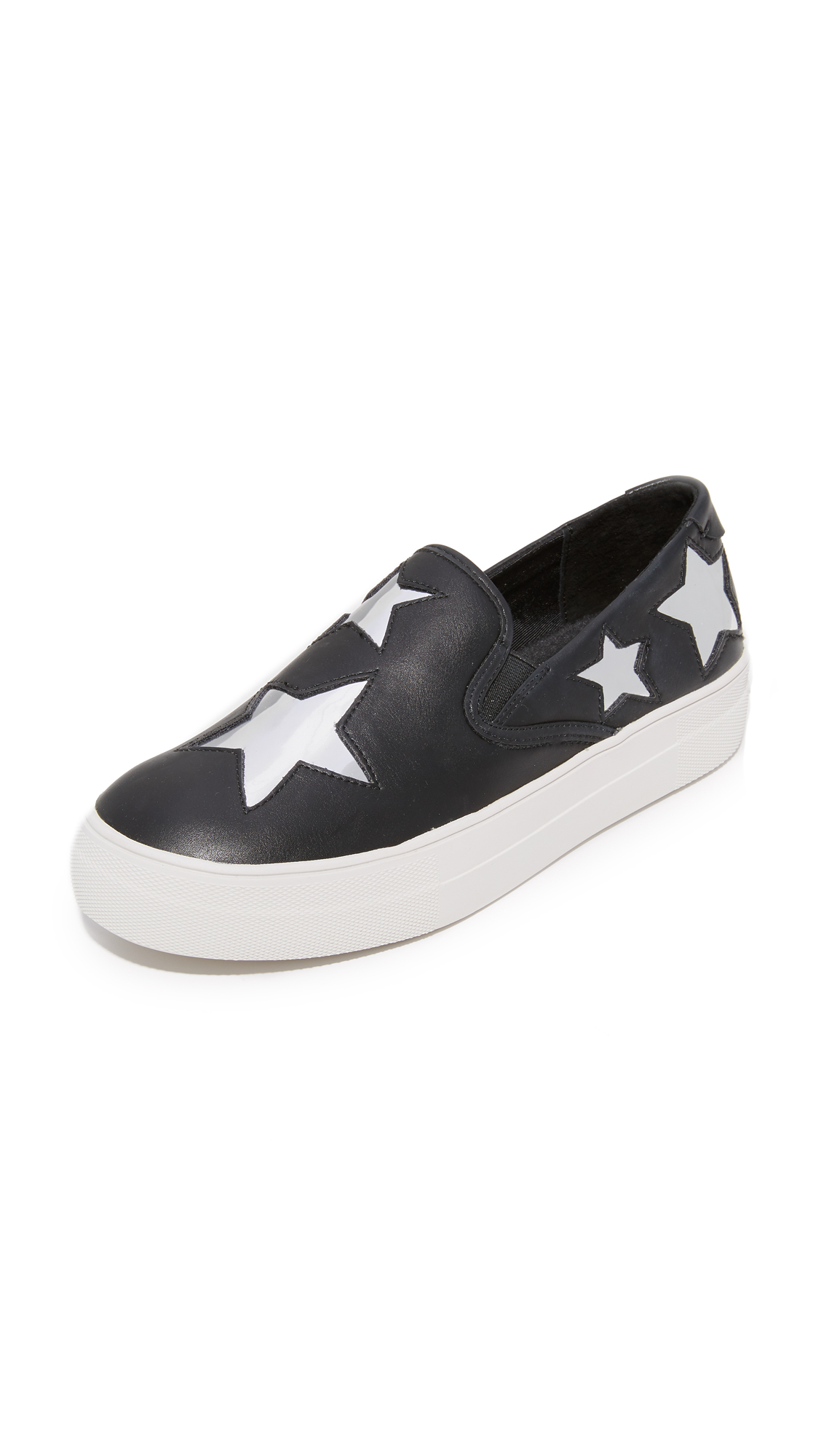 Steven Giggy Slip On Sneakers - Black Multi