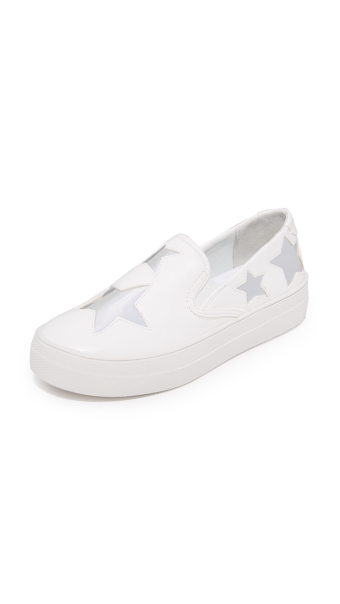 Steven Giggy Slip On Sneakers - White Multi