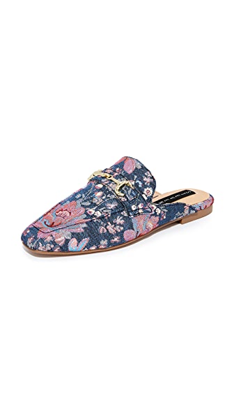 Steven Razzi Mules - Denim Multi