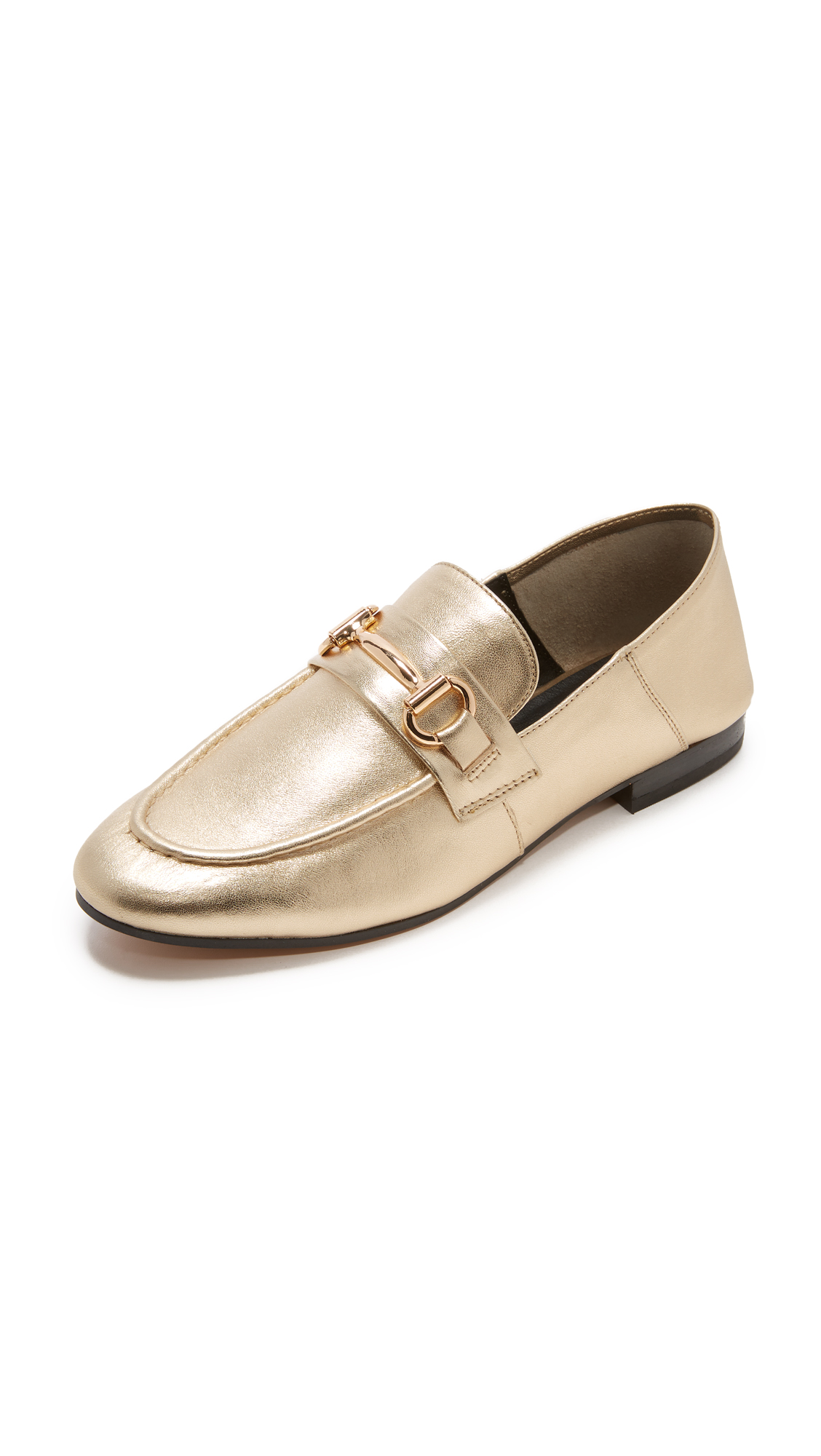 Steven Santana Convertible Loafers - Gold