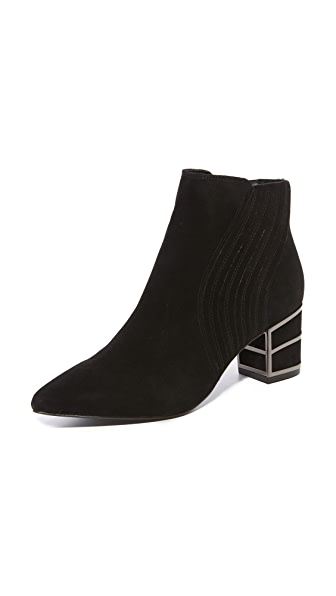 Steven Bennett Ankle Booties - Black