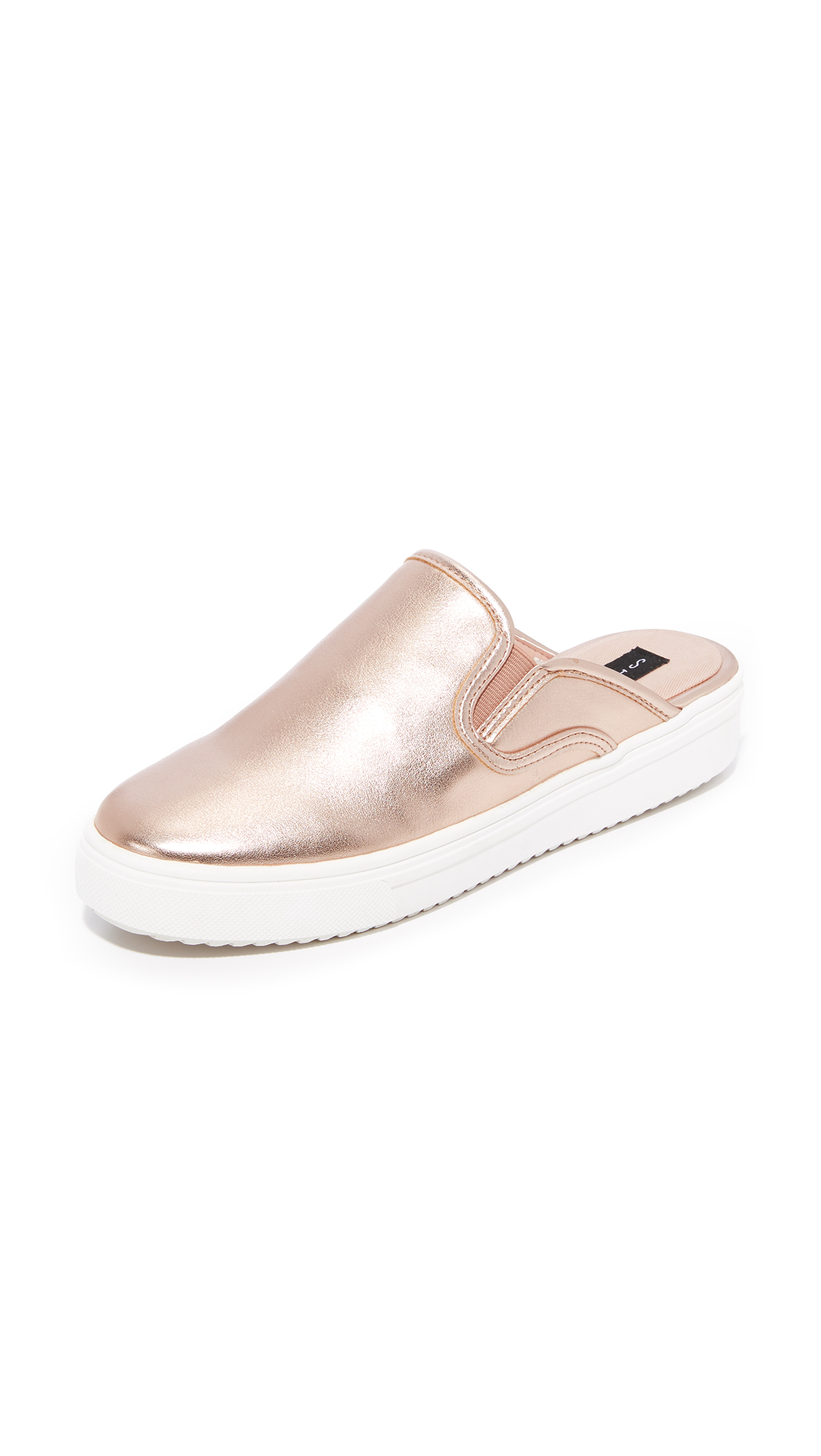 Steven Cody Sneaker Mules - Rose Gold