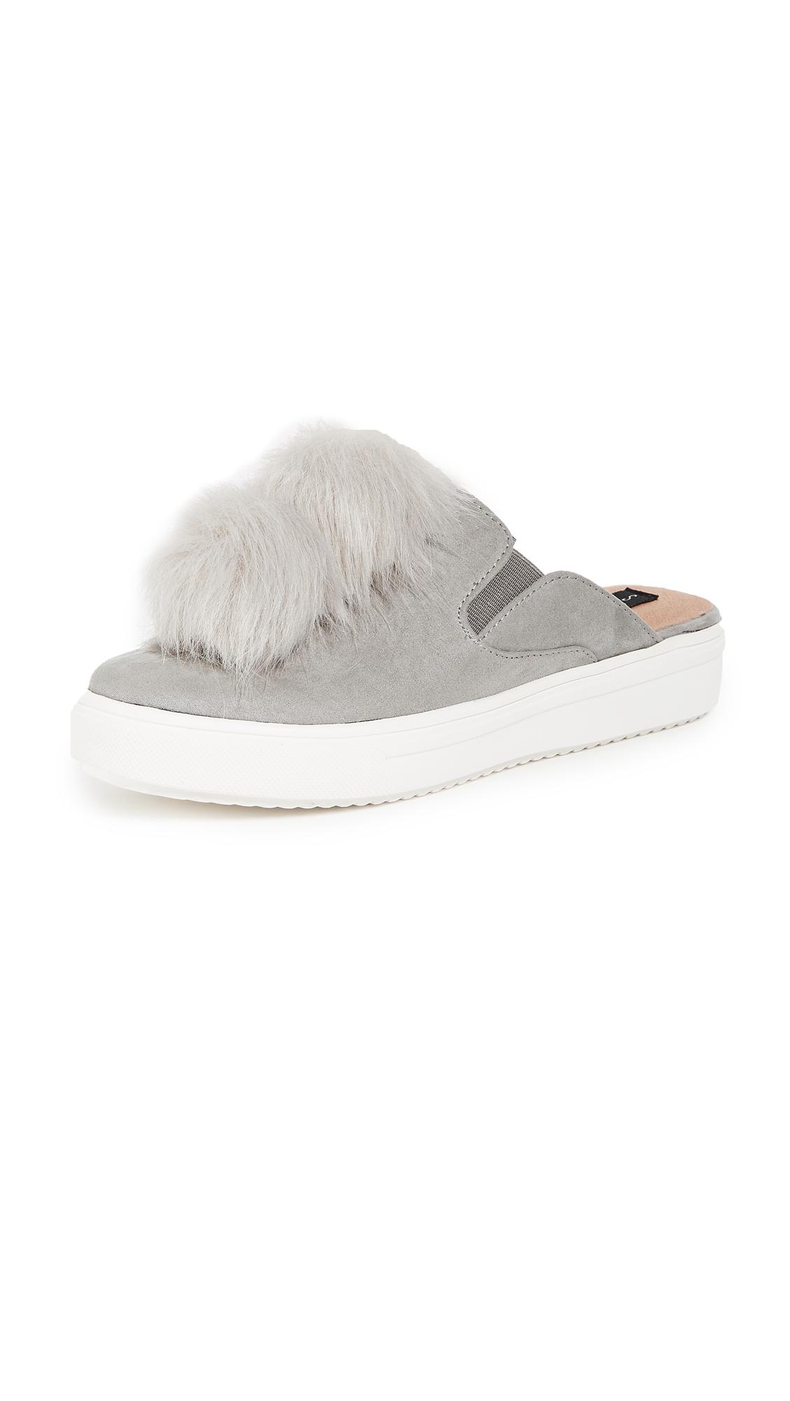 Steven Laguna Mule Sneakers - Grey