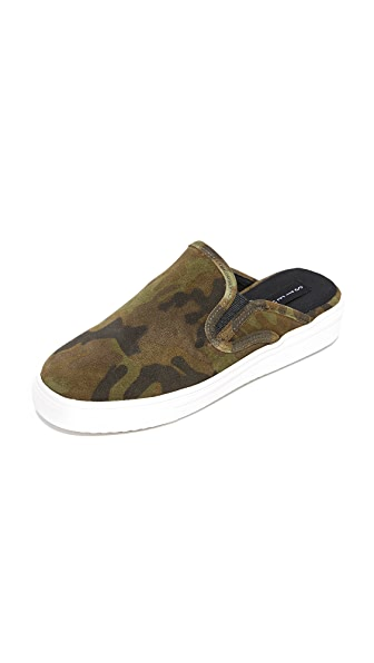 Steven Cody Mule Sneakers In Camoflage