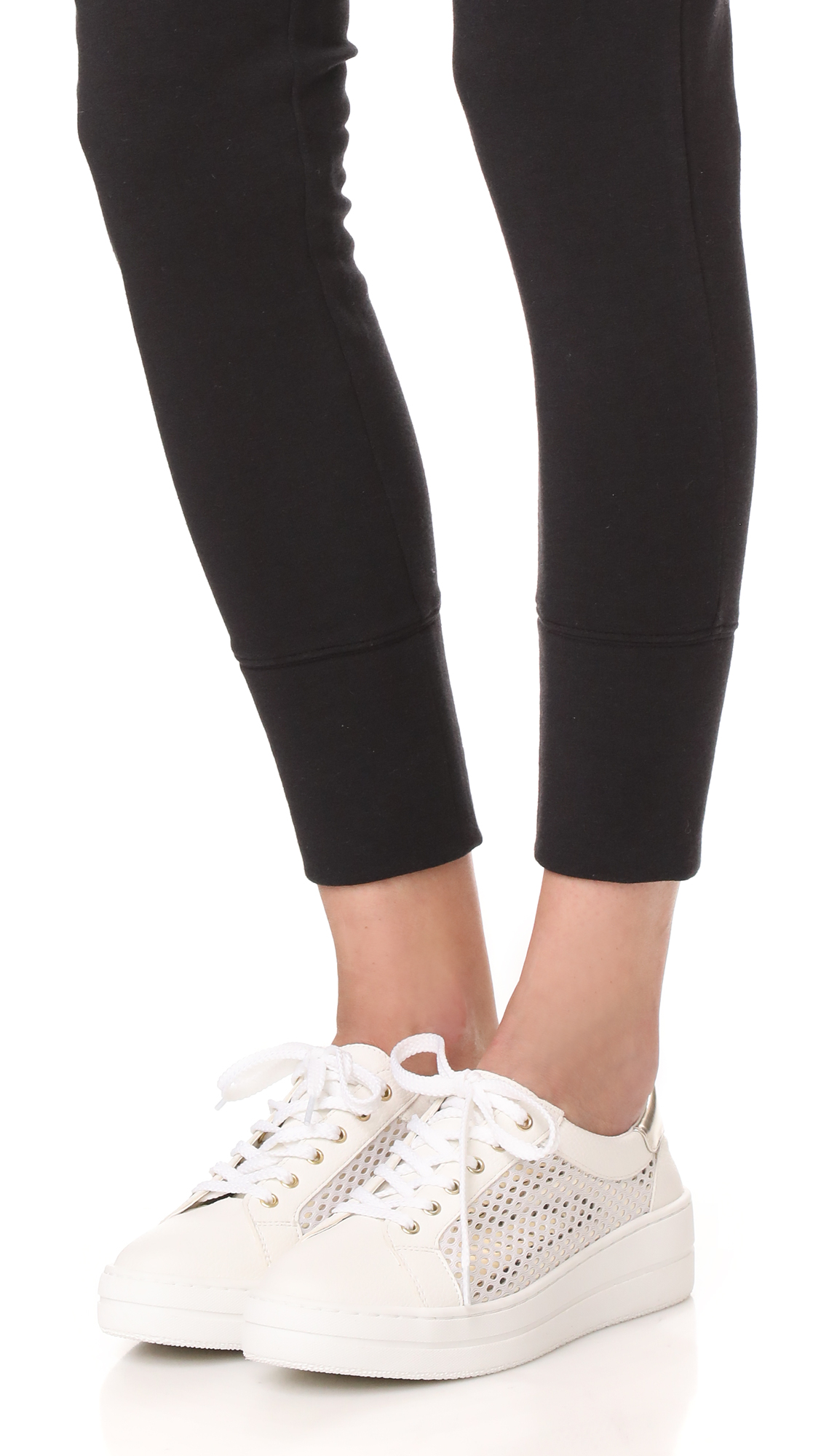 90d98c190fd Steven Nyssa Lace Up Sneakers