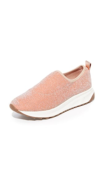 Steven NC Slate Sneakers In Rose Gold