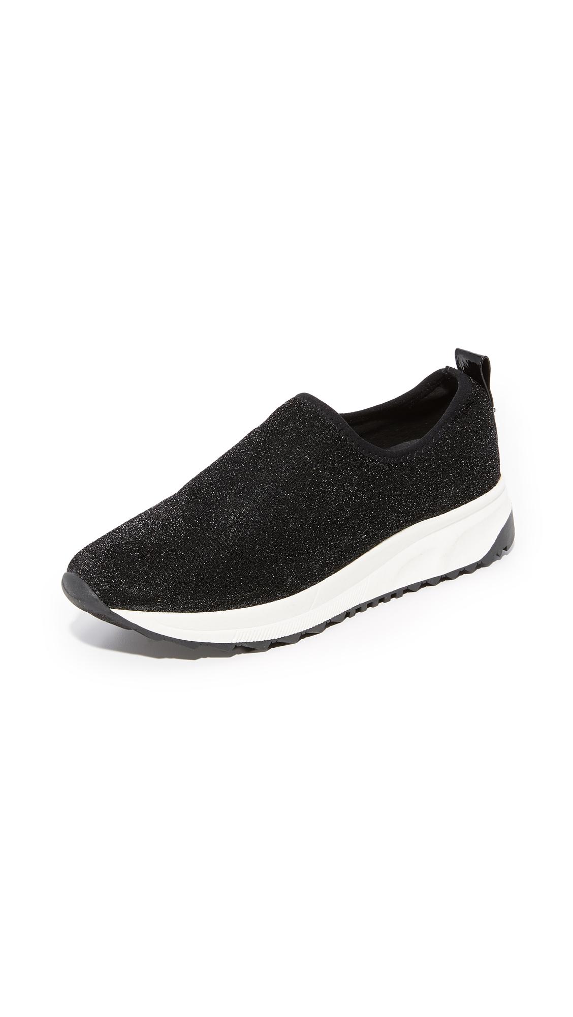 Steven NC Slate Sneakers - Black Glitter