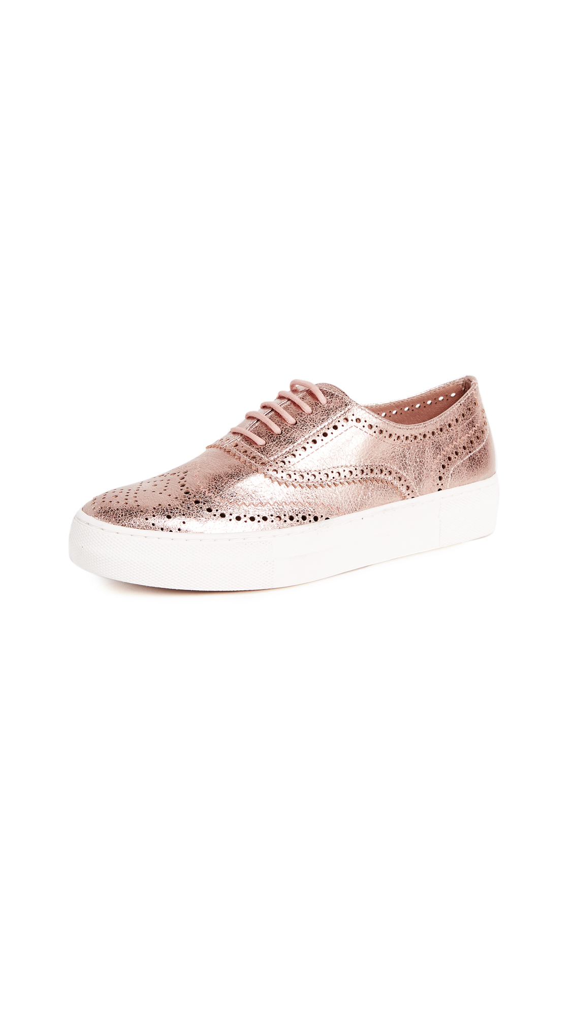 Steven Allister Platform Sneakers - Rose Gold