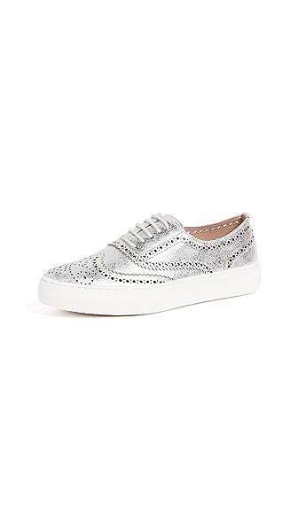 Steven Allister Platform Sneakers In Silver