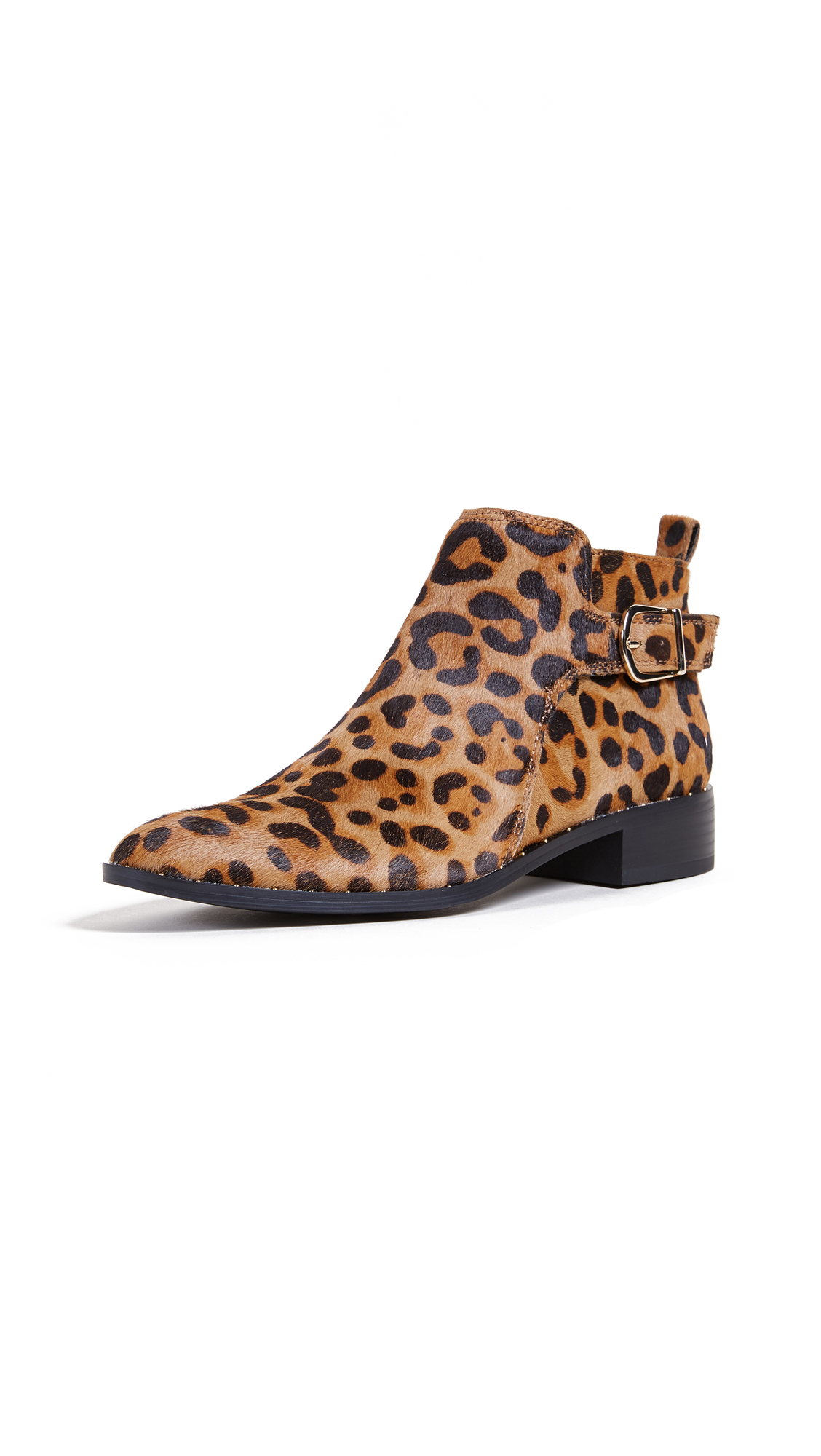 Steven Clio Ankle Booties - Leopard