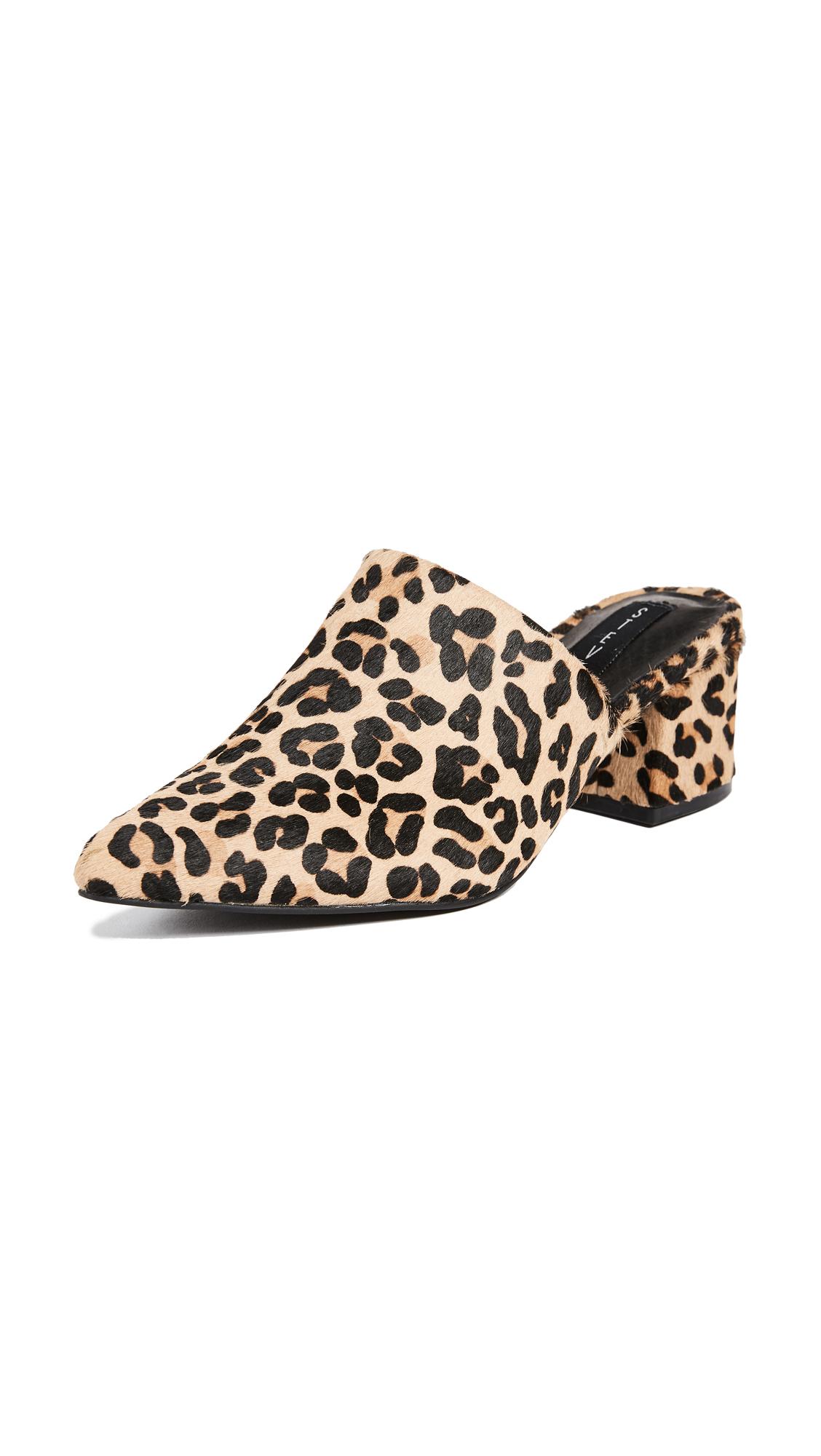 Steven Simone Block Heel Pumps - Leopard