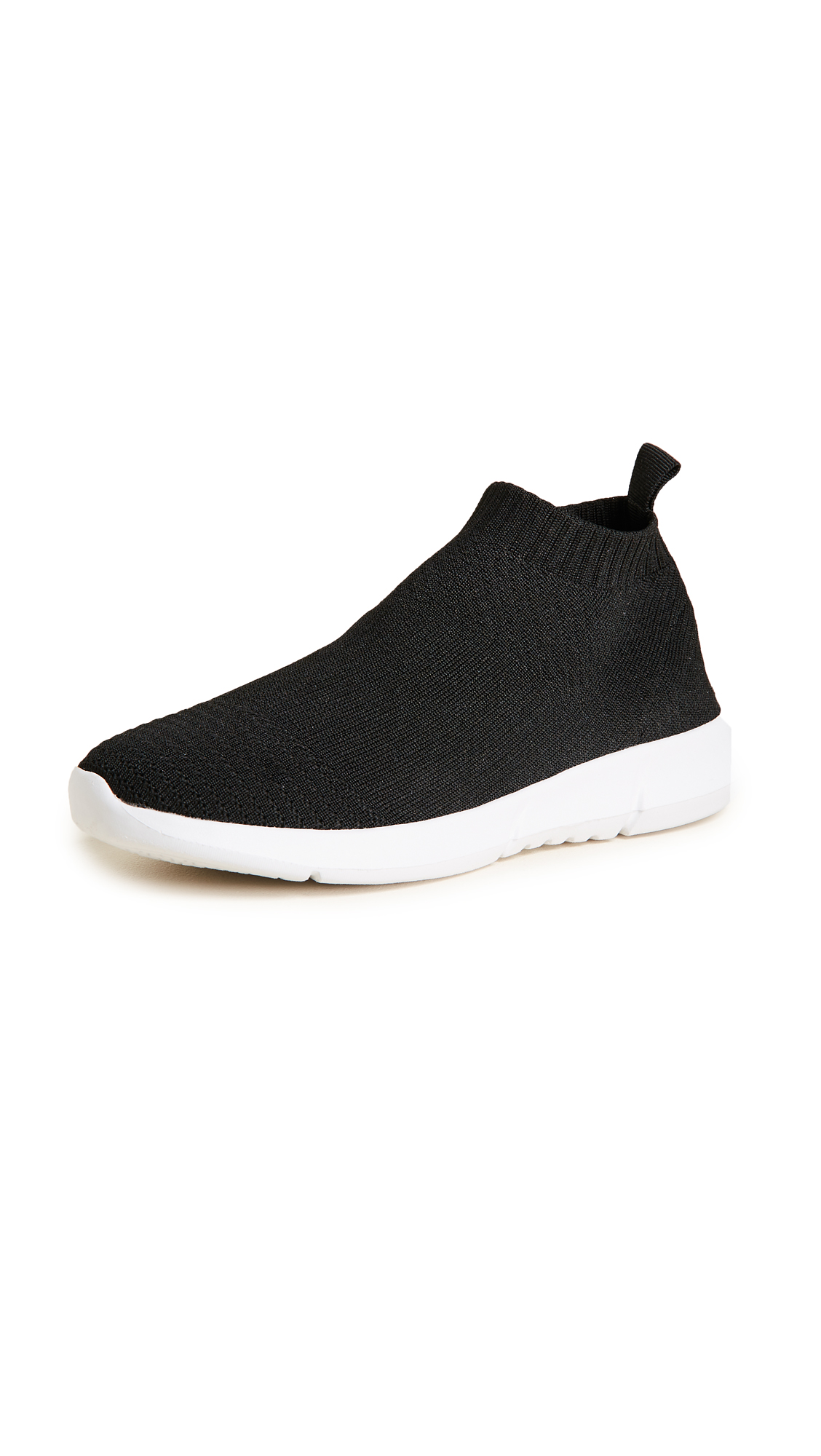 Steven Fabs Knit Jogger Sneakers - Black