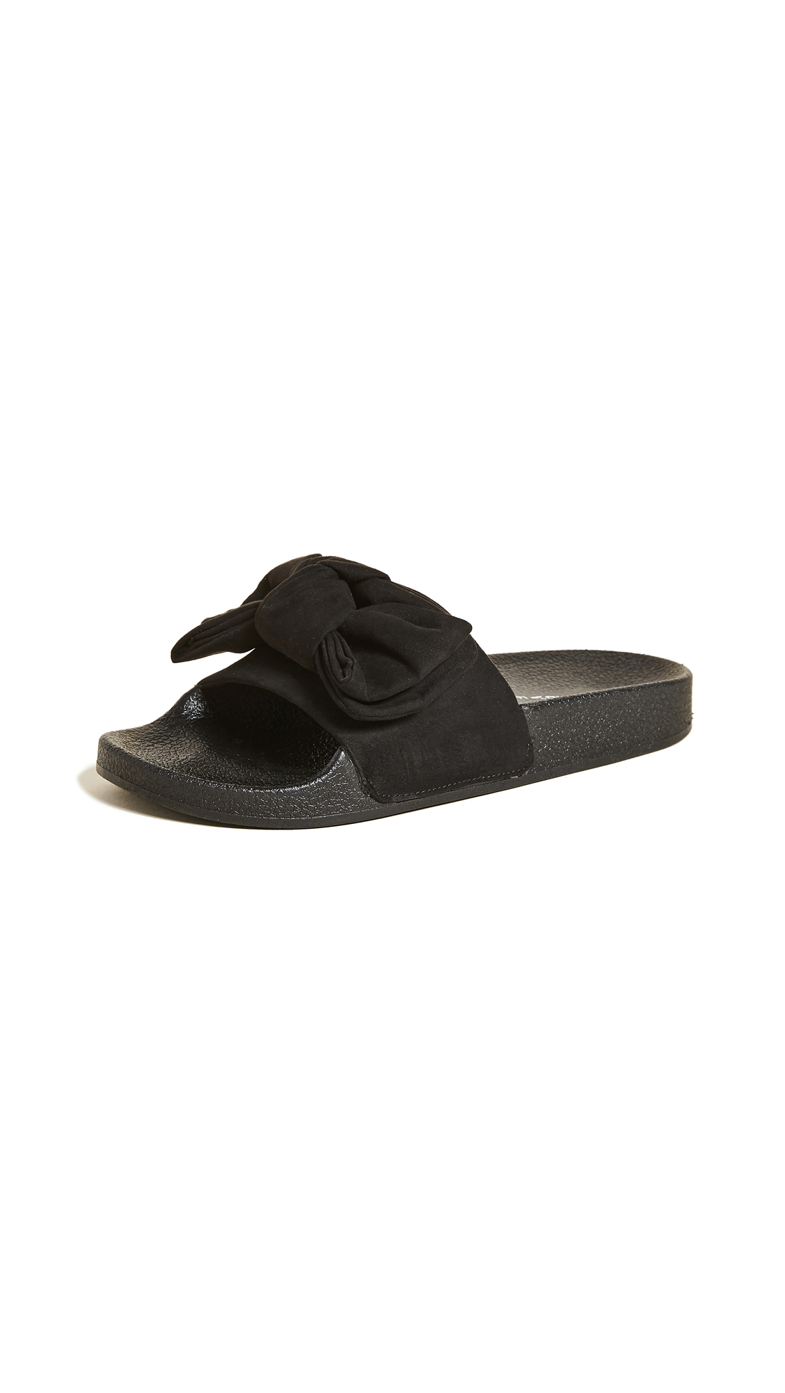 Steven Soraya Pool Slides - Black