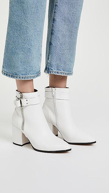 Steven Johanna Block Heel Ankle Boots