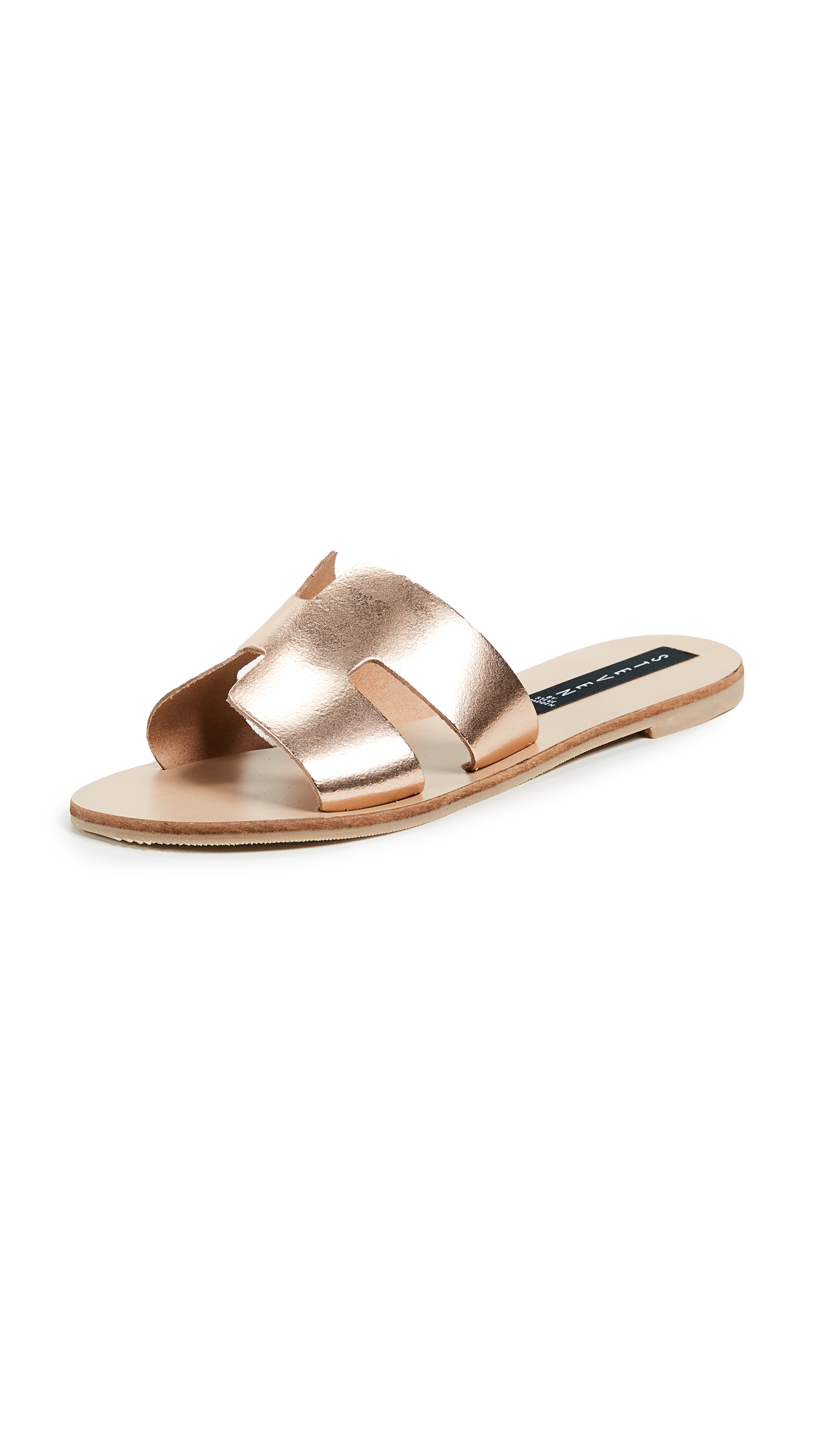 Steven Greece Slides - Rose Gold