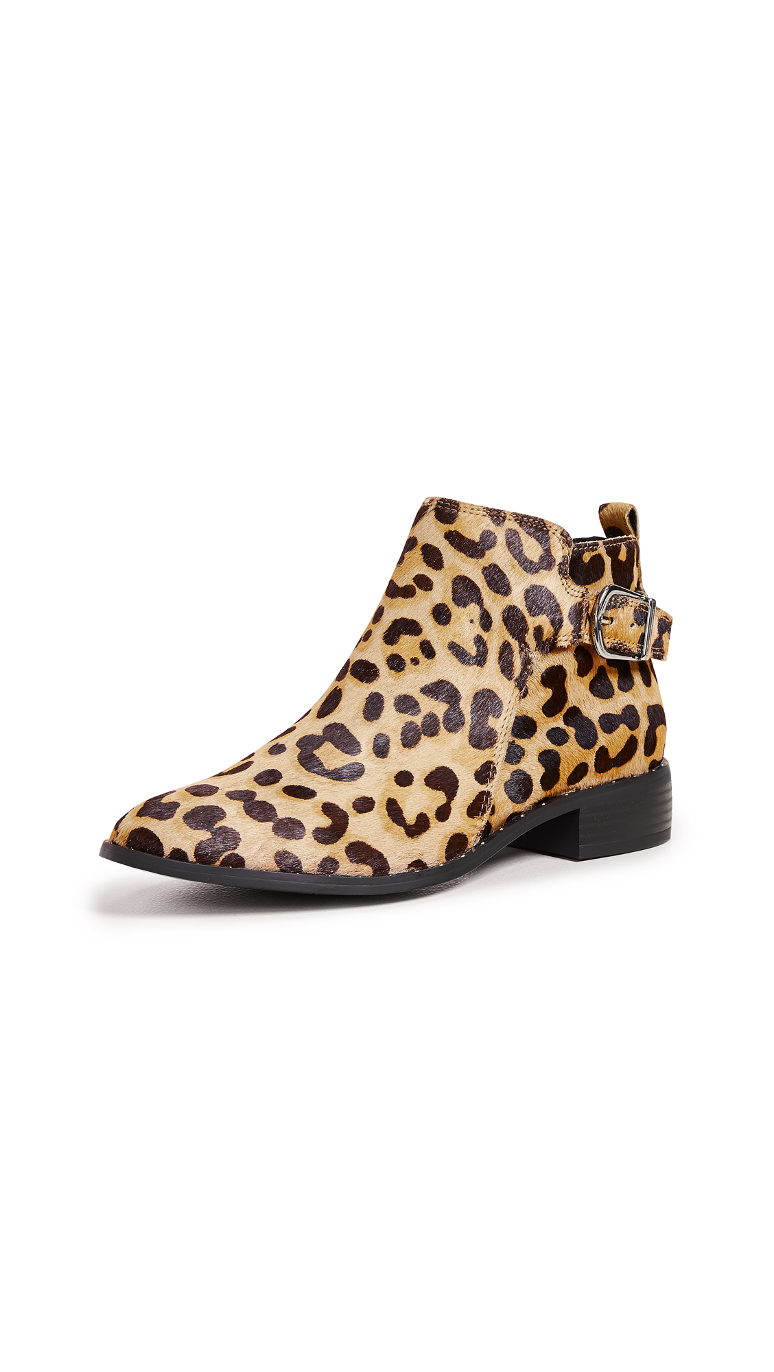 Steven Chavi Booties - Leopard