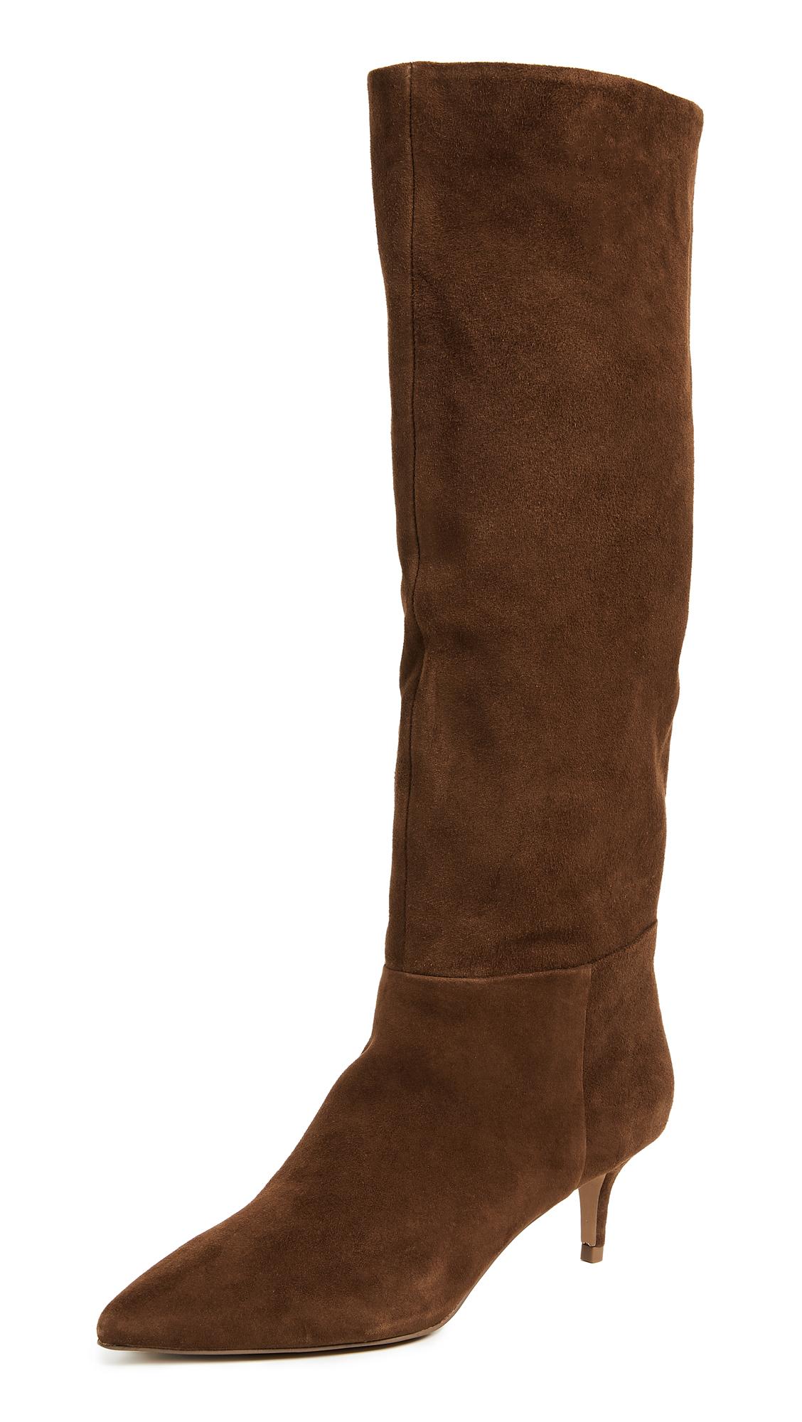 Steven Kirby Tall Boots - Chestnut