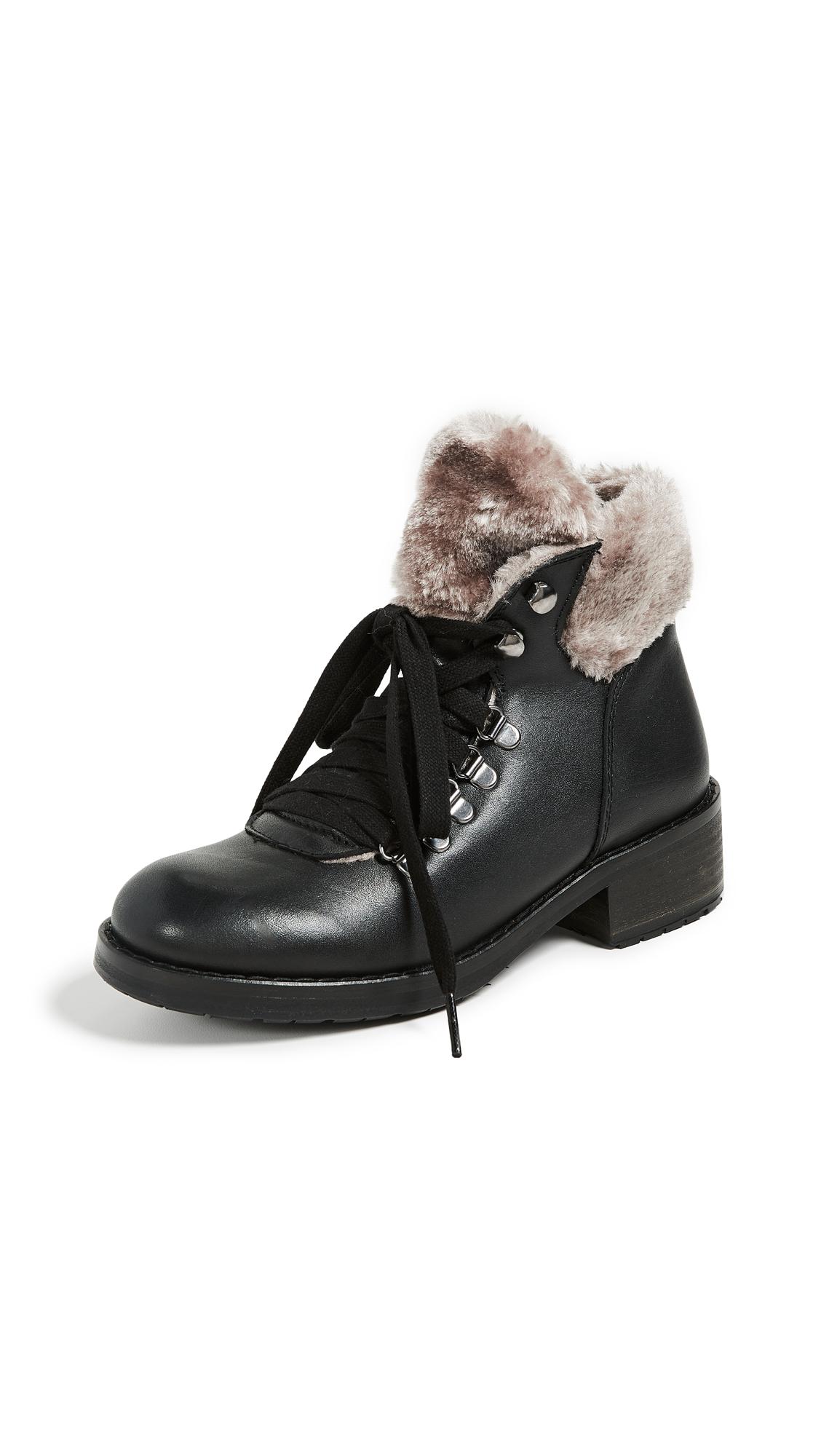 Steven Paloma Combat Boots - Black