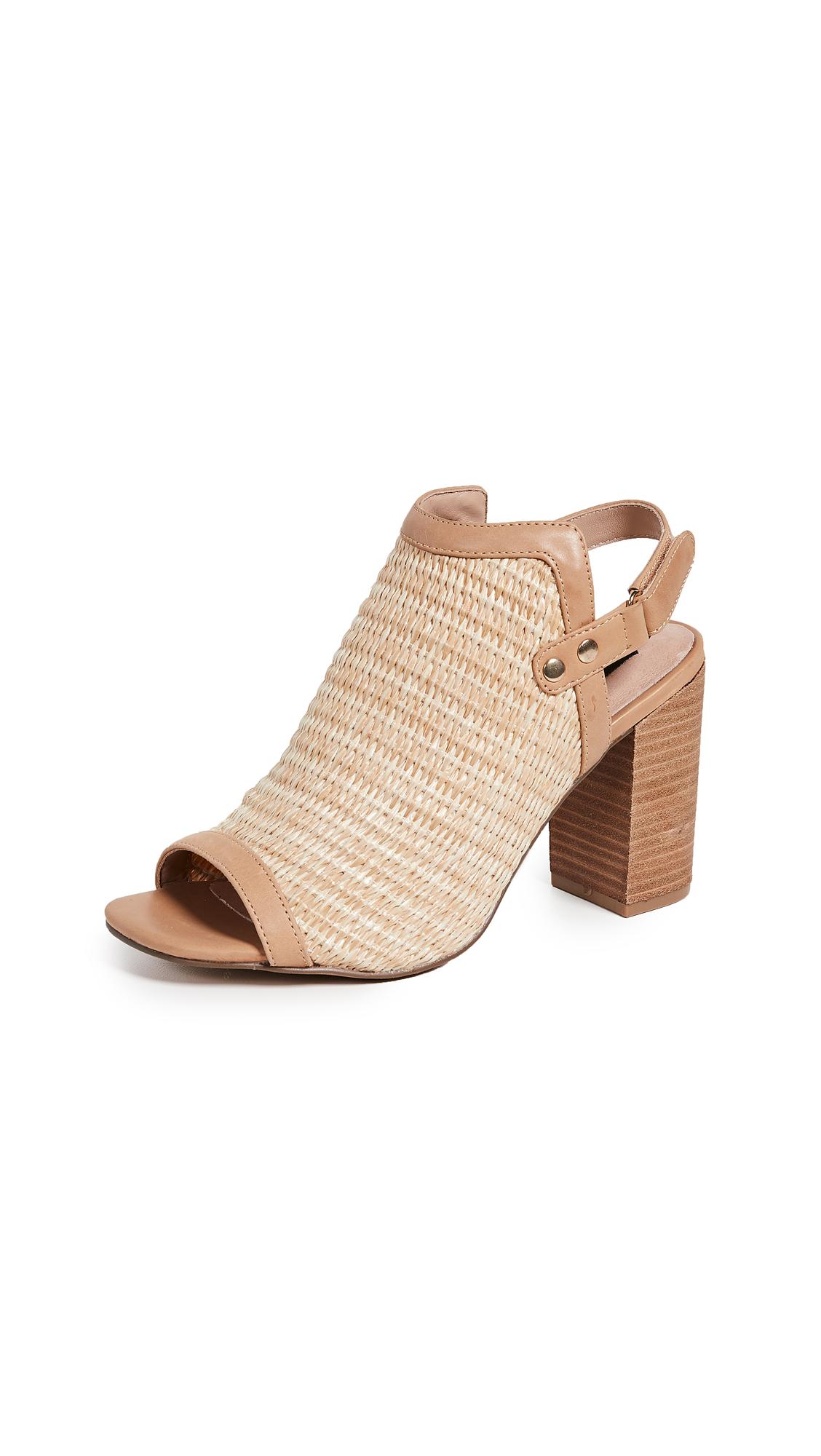 Steven Sweep Block Heel Sandals