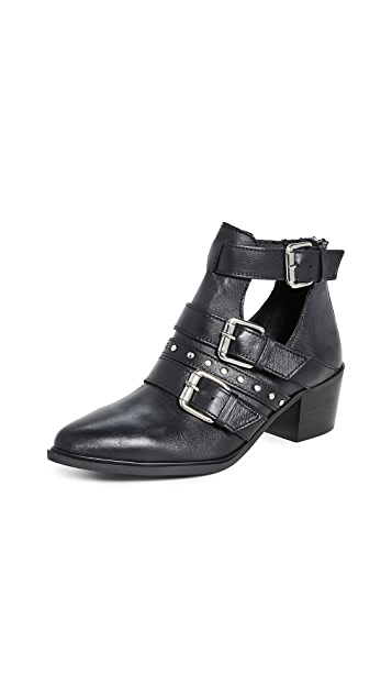 Steven Dizy Buckle Booties