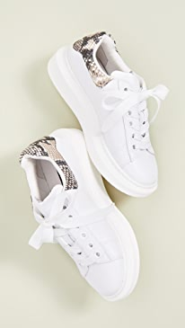 9ccb748d43311 Steven. Glazed Lace Up Sneakers